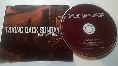 Taking Back Sunday * Twenty Twenty Surgery * 2 Track Cd Made In The Eu