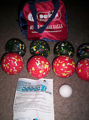 Perfetta Club  Bocce Ball Set- Made in Italy with bag