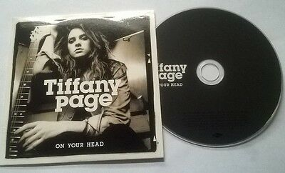 Tiffany Page * On Your Head * Rare 1 Track Promo Cd 2010 Irish Card Case