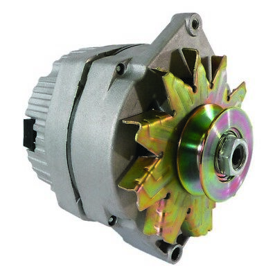 """Alternator Tractor 1-Wire 10SI 63 Amp with Wide 5/8"""" Pulley"""