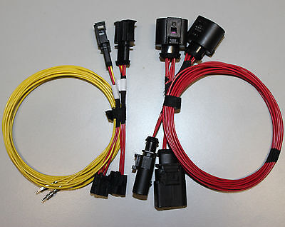 AUDI A5 8T 8F halogen to Facelift LED rear tail lights harness adapter + manual