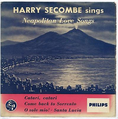 "Harry Secombe - Neapolitan Love Songs - 7"" Single"