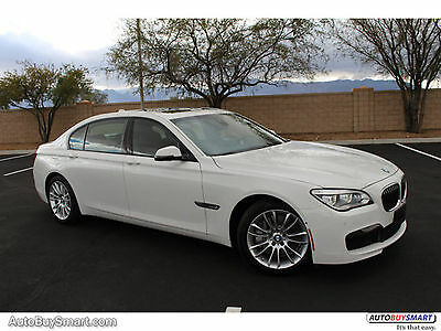 2014 BMW 7-Series RWD 2014 White RWD!