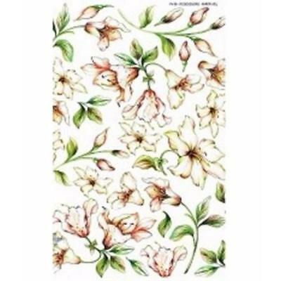 Sospeso Trasparente Paper Veil Rododendro pack of 4 sheets