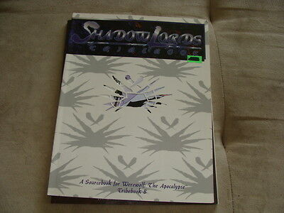 SHADOW LORDS Tribebook 8 for Werewolf the Apocalypse White Wolf 1995 Complete !!
