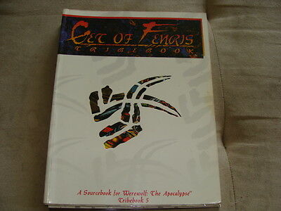 GET of FENRIS Tribebook 5 for Werewolf the Apocalypse White Wolf 1995 Complete