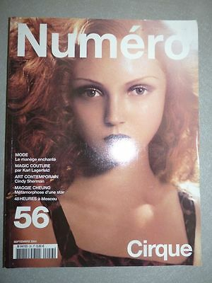 Magazine mode fashion NUMERO french #56 septembre 2004 Cirque