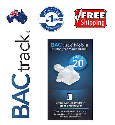 Breathalyser. Alcohol Breath Tester - BACtrack Mobile Pro Mouthpieces / GENUINE