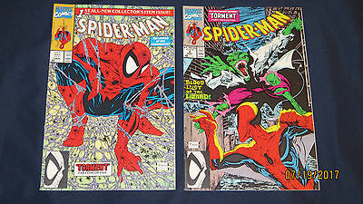 Marvel Comics 1990 Spider-Man 1st All-New Collector's 1 Aug and 2 Sept McFarlane