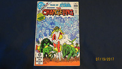 Tales of the New Teen Titans #3 (Aug 1982, DC) The Changeling GOOD