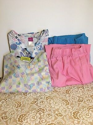 Womens Scrubs Lot In Large