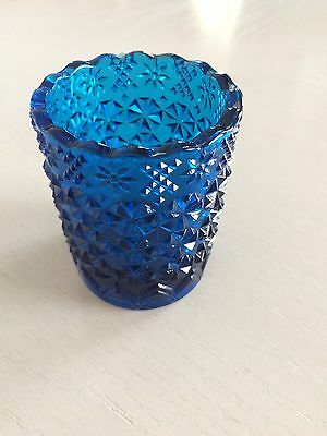 Blue Toothpick Holder With Extra Detail