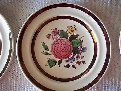Antique Josiah Spode  China Small Plates Set Of 6
