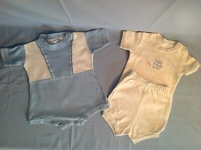 Two Vintage Baby Boy Outfits, 1949