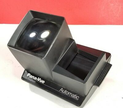 Pana-Vue Automatic Lighted 35mm 2x2 Slide Viewer
