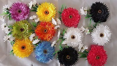 24 pcs Headband Hairband flower Mixed color Hair Accessories .