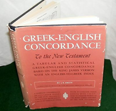 Greek-English Concordance to the New Testament:A Tabular and Statistical Greek-E