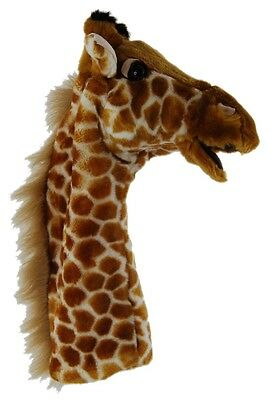 *new* Adult & Children Hand Puppet Giraffe (African Animal)  Soft Toy 38Cm