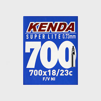 KENDA Super Lite Road Bike Tube 700x18/23c Presta Vlave Bicycle Inner Tube 700c