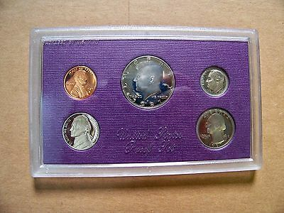 1987 US Treasury Coin Mint Proof Set! New in Box!