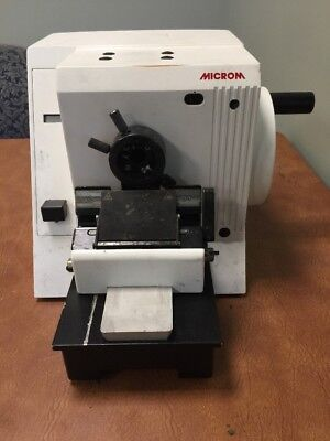 Thermo Microm HM 355 S Rotary Microtome Tissue Sectioning Histology Pathology