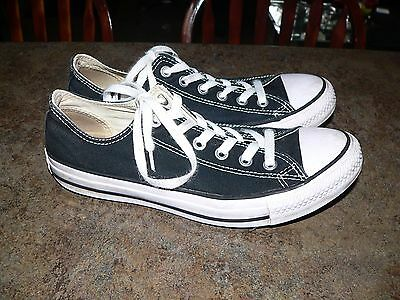 Converse All Star Chuck Taylor Unisex Mens 7 Womens 9 Low Top Sneakers Shoes