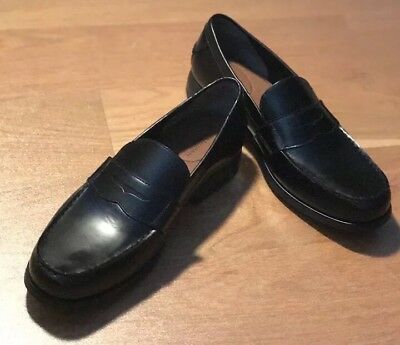Bostonian - Black Leather - Penny Loafers - Men Size 10M