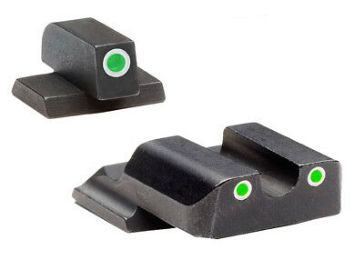 Ameriglo S&W M&P Shield Tritium Sight Set With White Outline Rings-SW-145