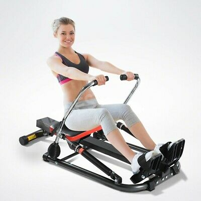 Genki Home Exercise Hydraulic Rowing Fitness Machine Gym Rower Abdominal