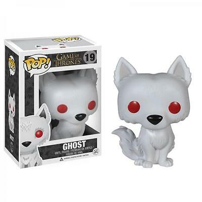 Funko Pop! Game of Thrones 19 Ghost Wolf Pop Vinyl Action Figure FU3876
