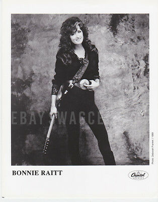 BONNIE RAITT Original LTD 8x10 Publicity Press Kit Photo Rare Portrait 03