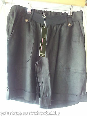 Mothers En Vogue S Black Maternity Shorts *REDUCED*