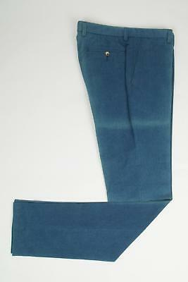 $595 NWT Luciano Barbera Brick Red 5 Pocket Cotton Cashmere Jeans Pants 50 IT 34