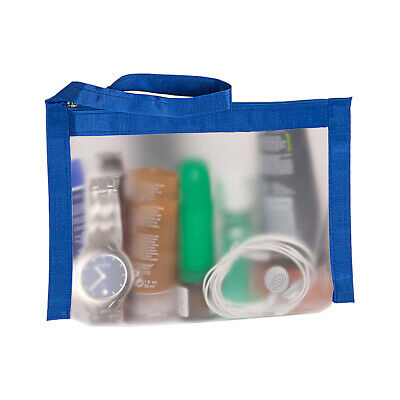 Flanabags AirQuart TSA-Compliant Clear Carry-on Quart Toiletry Kit NEW