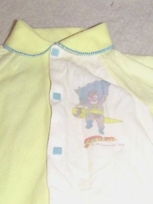 "Vintage  DC Comics ""Super Jrs"" baby Batman Sleeper 1978~Newborn"