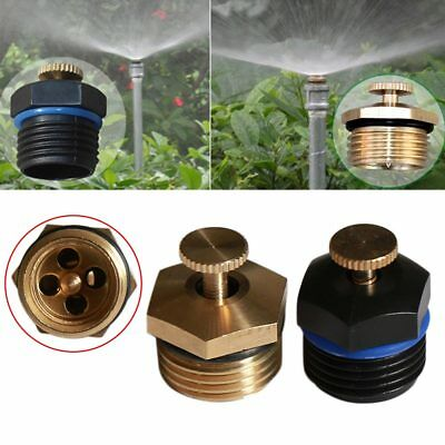 2PCS Micro Brass Atomization Spray Nozzles Garden Cooling Misting Sprinkler Head