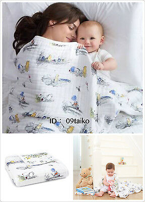 NEW Aden and Anais Classic Dream Blanket 100% Muslin Disney Baby Winnie the pooh