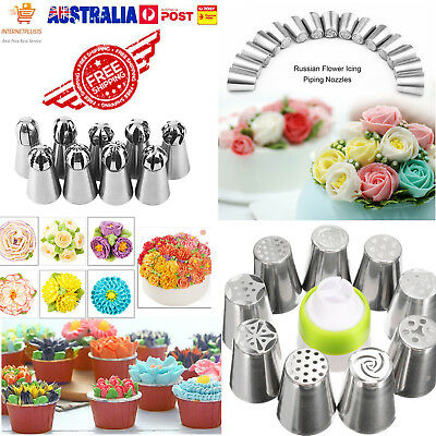 Multi-Sphere Ball Russian Icing Piping Nozzles Tips Cake Decorating Baking Tools