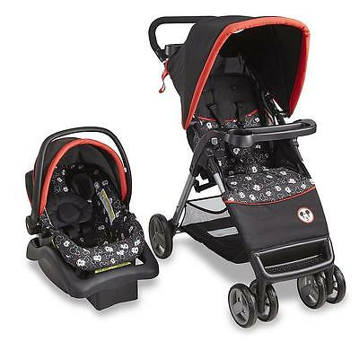 NEW Disney Baby Travel System Mickey Mouse Stroller Lightweight Car Seat