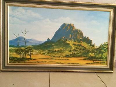Vintage, Jack Absalom , original oil on board, blue chip investment