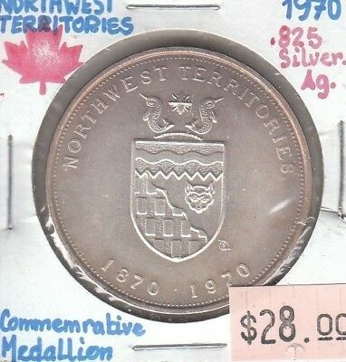 Northwest Territories Canada - Medallion - 1970 - Silver