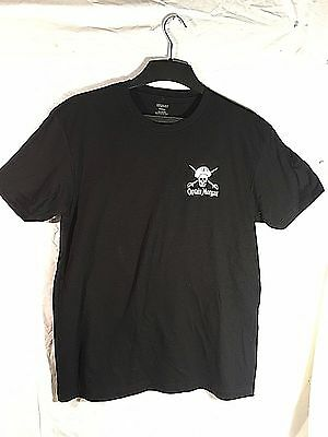 New Captain Morgan Rum Shirt, Black, Sizes Med Or Xl, Pirate Skull, Conquer Cktl