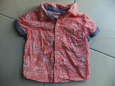 Baby Boys Size 0 6-12 months Jeans West Jnr Button Up Shirt