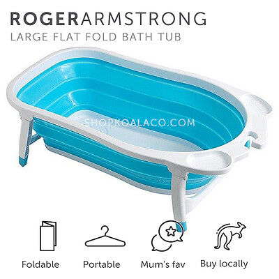 [NEW] Roger Armstrong - Large Flat Folding Portable Baby Bath Tub