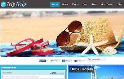 Automated Hotel and Travel Website Free Installation+Hosting