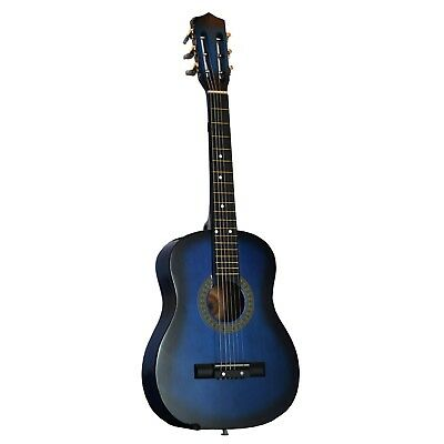 80cm Inch 1/2 Half Size Kids Acoustic Toy Guitar - Blue. DirectlyCheap(TM)