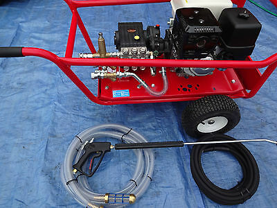 Honda Gx390 13Hp Jetter Electric Start Petrol 21Ltrs @ 200Bar Dual Feed System