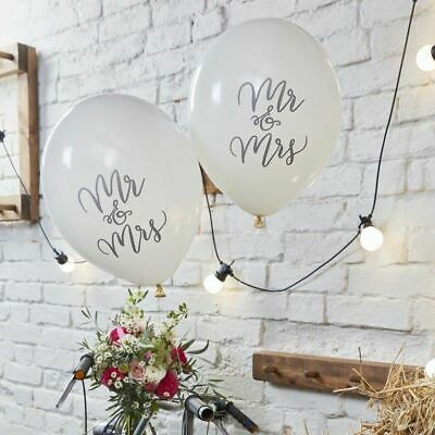 Wedding Balloons available in 10+ designs - Mr & Mrs, Just Married, Anniversary
