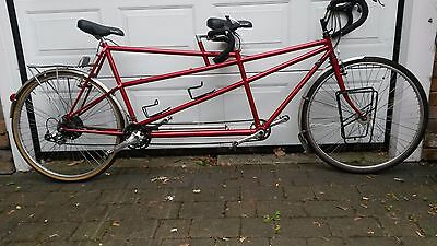 "Superb quality PRICE REDUCED TOURING TANDEM handbuilt, FRAME Front 20"" REAR 23"""