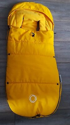 Yellow Universal Bugaboo Footmuff Cosytoes Seat Cover Liner Immaculate